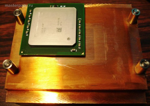 как снять охлаждение с процессора