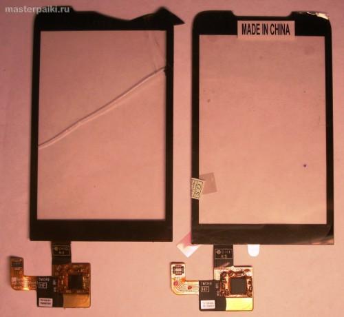 замена тачскрина смартфона HTC Hero A6363.JPG