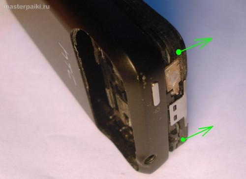 поддеваем плату смартфона HTC Hero A6363.JPG
