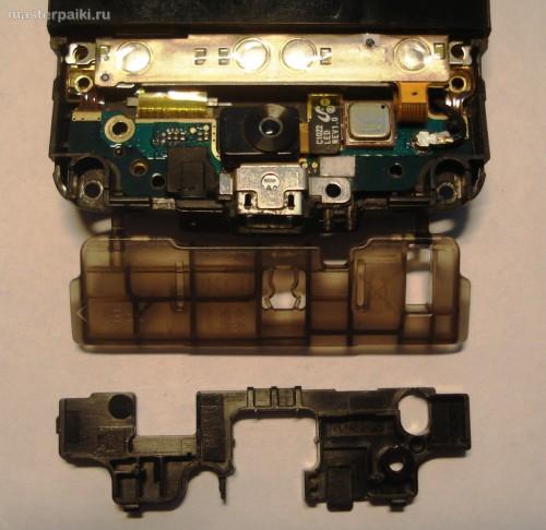 откручиваем панель кнопок смартфона HTC Hero A6363.JPG