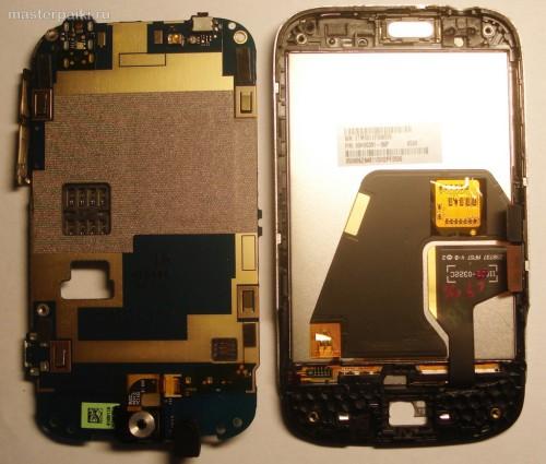 12- снять плату смартфона HTC Wildfire A3333