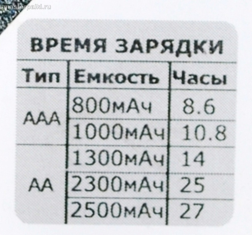 схема простой зарядки для аккумуляторной батареи