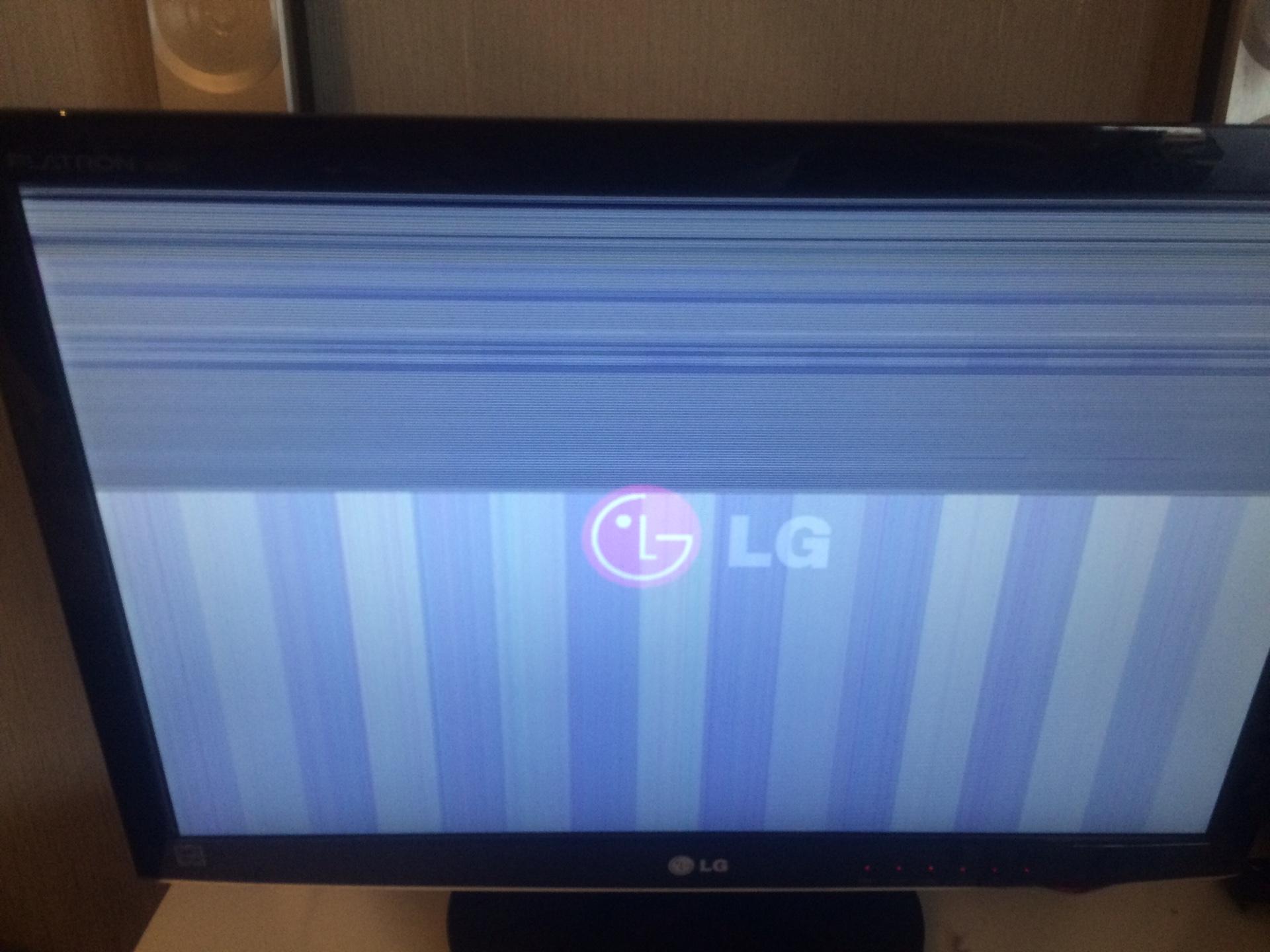 Ремонт телевизора lg flatron своими руками