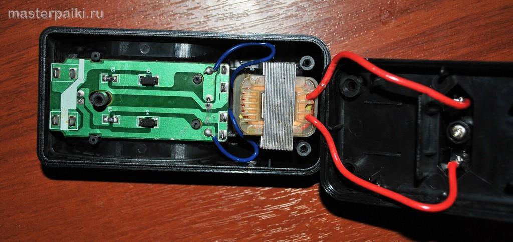 схема зарядного устроства для