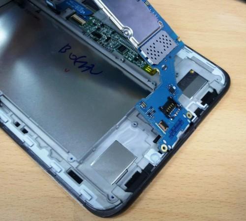 поднимаем плату Samsung Galaxy Tab2 P 3100