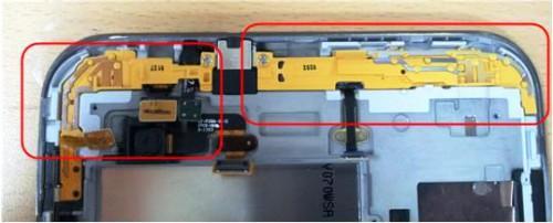 отключаем оставшиеся шлейфы Samsung Galaxy Tab2 P3100