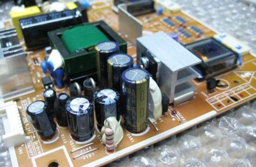 замена конденсаторов в Sasmung 740 N