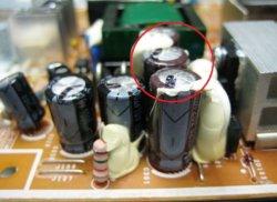 конденсаторы монитора Samsung 740N