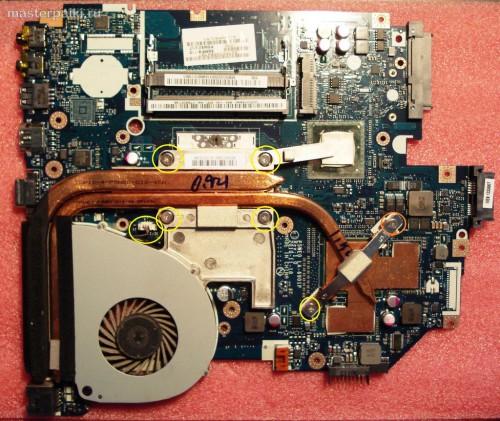 14-система охлаждения Acer Aspire 5750G