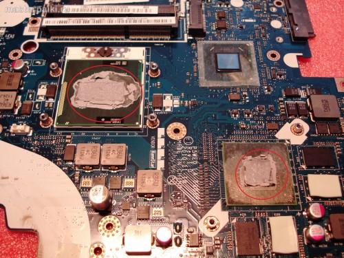15-термопаста Acer Aspire 5750G