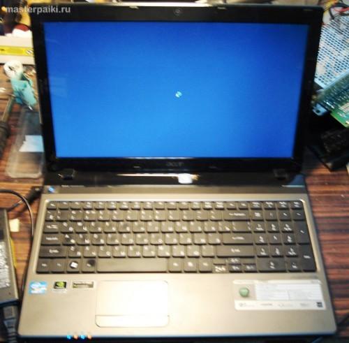 19-ремонт Acer Aspire 5750G как разобрать и почистить ноутбук Acer