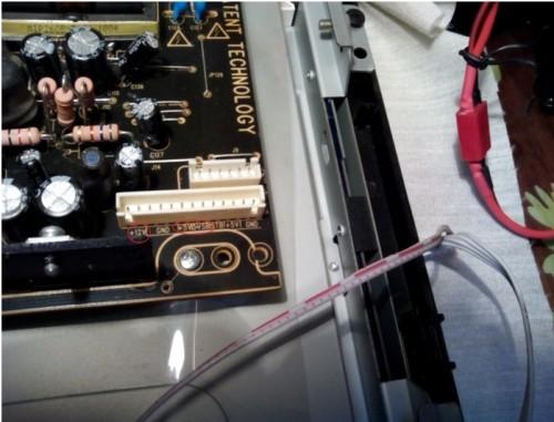 ремонт ЖК телевизора Supra - напряжение на блоке питания Жк телевизора STV-LC2622W