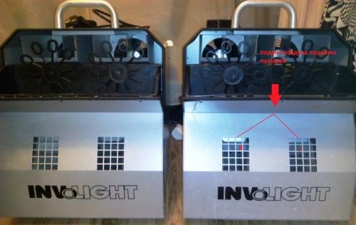 подача воздуха для генератора мыльных пузырей BM300