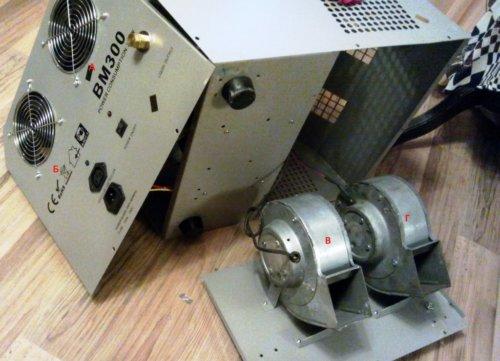 разборка и ремонт генератора мыльных пузырей