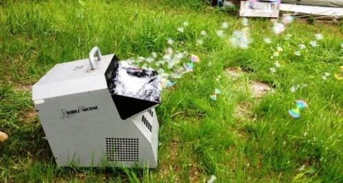 что сломалось в генераторе мыльных пузырей