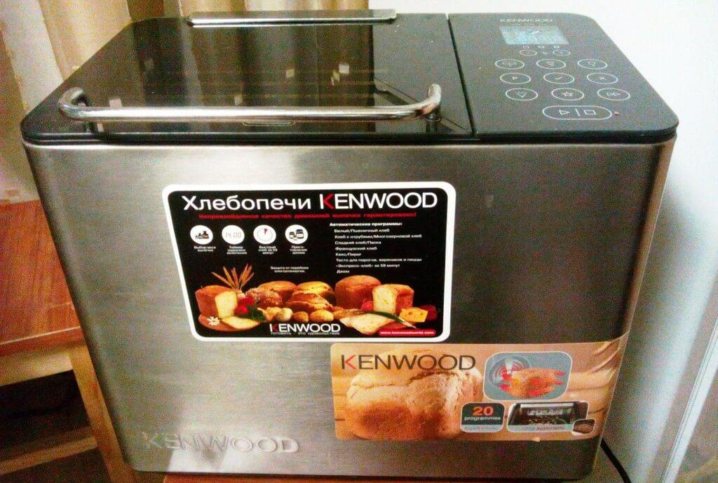 Хлебопечка Кенвуд Bm450 инструкция