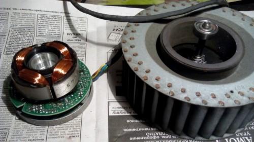 устройство ракушечного вентилятора генератора мыльных пузырей