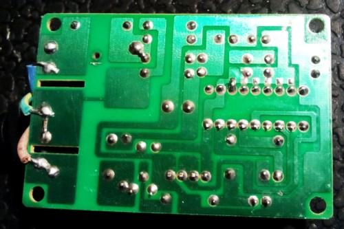 плата пульта управления генератора мыльных пузырей BM300