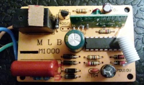 пульт дистанционного радиоуправления генератора мыльных пузырей