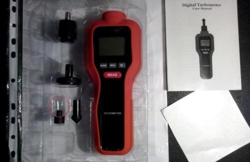 тахометр для измерения оборотов двигателя