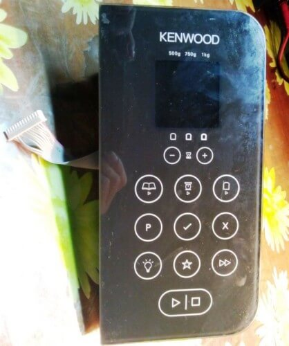передняя панель хлебопечки Kenwood BM 450