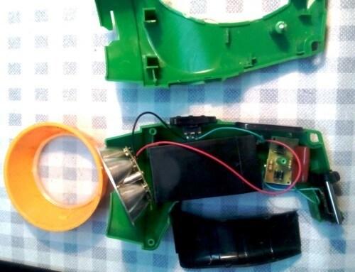 разборка и ремонт китайского фонарика своими руками