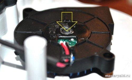 как разобрать запаянный вентилятор