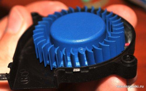 очистка лопастей вентилятора увлажнителя supra hds-111