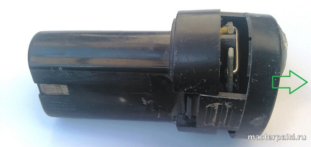 Термодатчик для аккумулятора шуруповерта