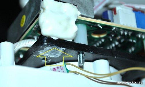 куда ставить термодатчик в увлажнителе воздуха супра