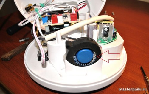 как строен увлажнитель воздуха supra hds-111 внутри