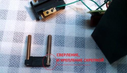 разборка и ремонт вилки в зарядном устройстве китайского фонарика