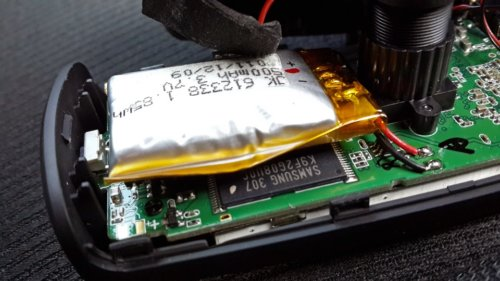 вздутый аккумулятор видеорегистратора