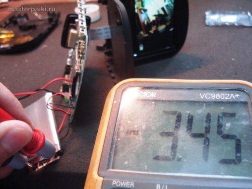 аккумулятор видеорегистратора после толчка