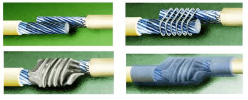 Как соединить два провода крепко