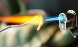 Пропановая горелка для пайки твердым припоем
