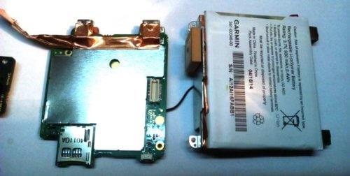 материнская плата с аккумулятором Garmin GDR 35