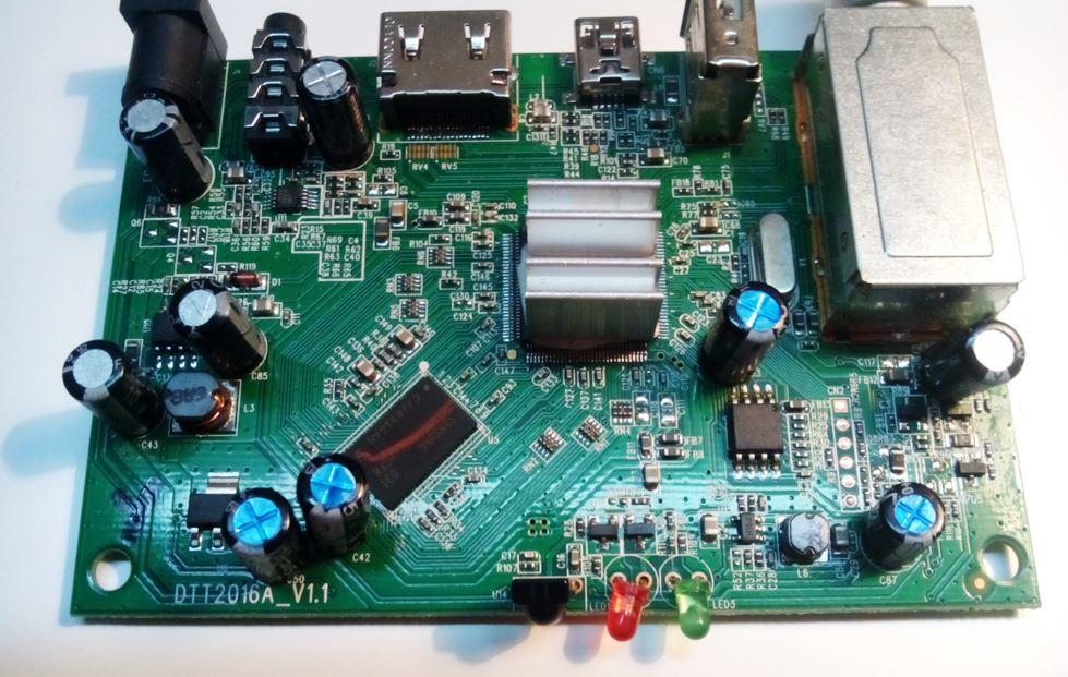 материнская плата ресивера SkyTech 97G DVB T2