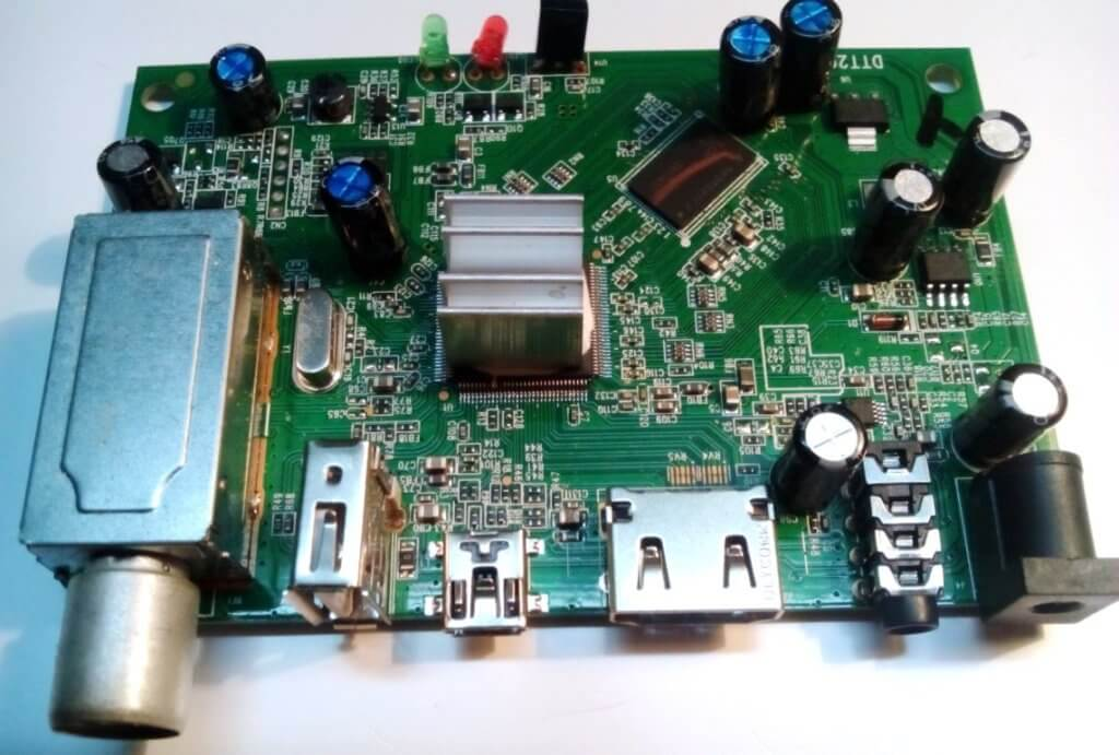 плата ресивера SkyTech 97G DVB T2