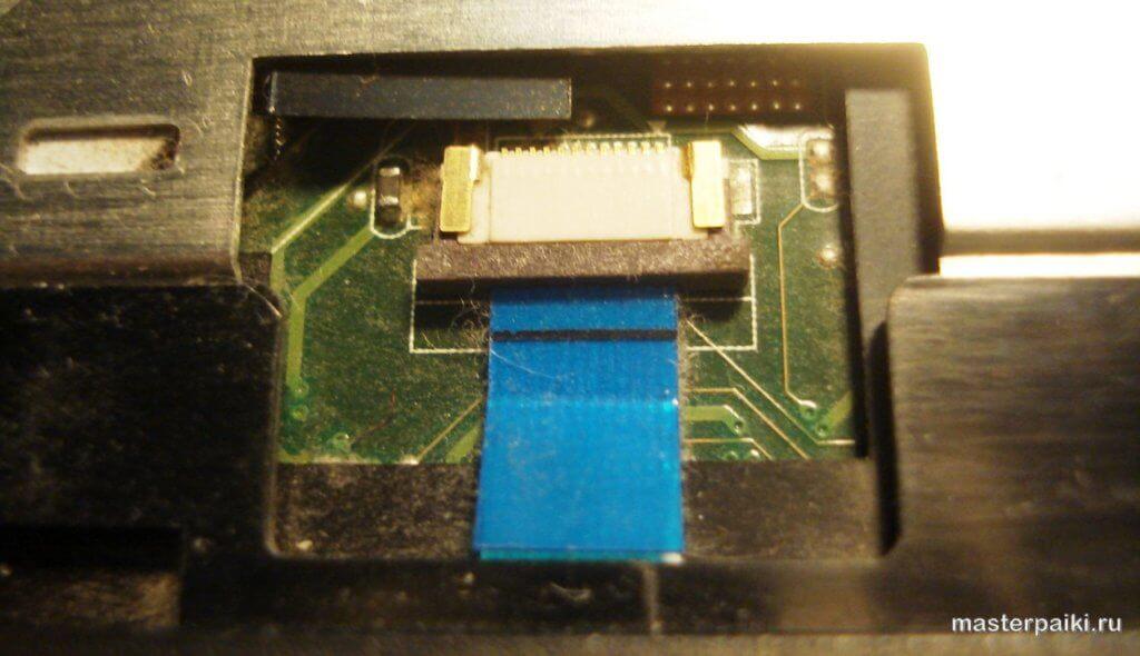 разъем тачпада ноутбука Asus X50VL
