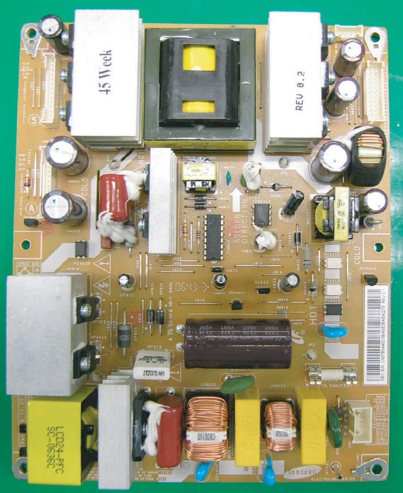 плата источника питания ЖК ТВ Samsung LE26S81B
