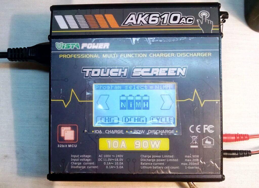 зарядное устройство для восстановления аккумуляторных батарей шуруповертов