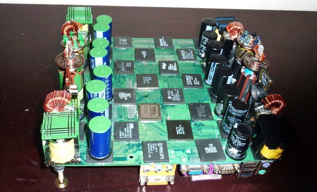 шахматная доска ля настоящего инженера