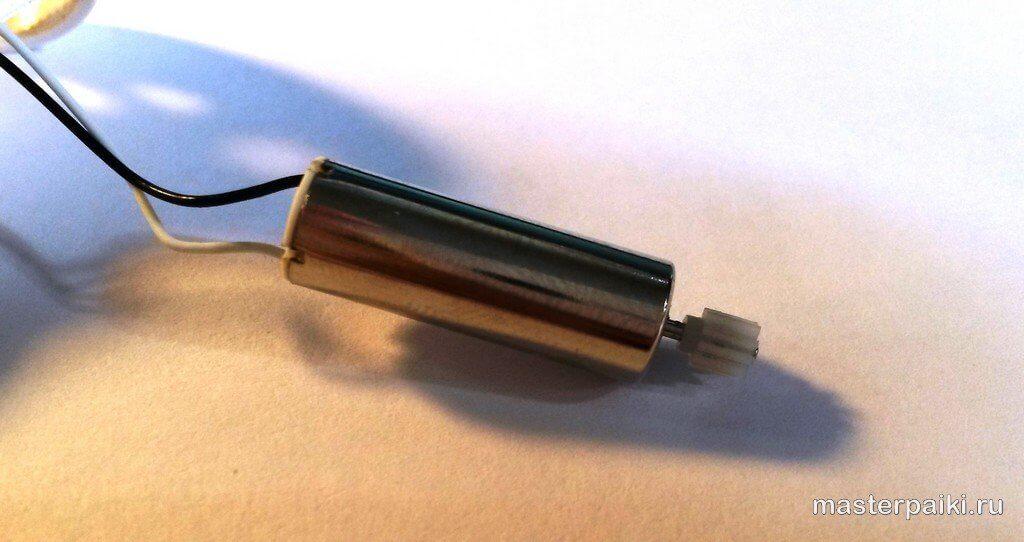 ремонт мотора квадрокоптера SPL X5 (Syma X5)