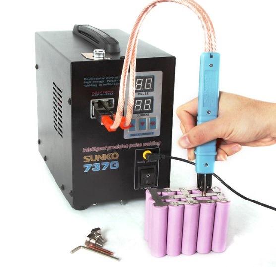 сварочная станция для точечной сварки для аккумуляторов шуруповертов