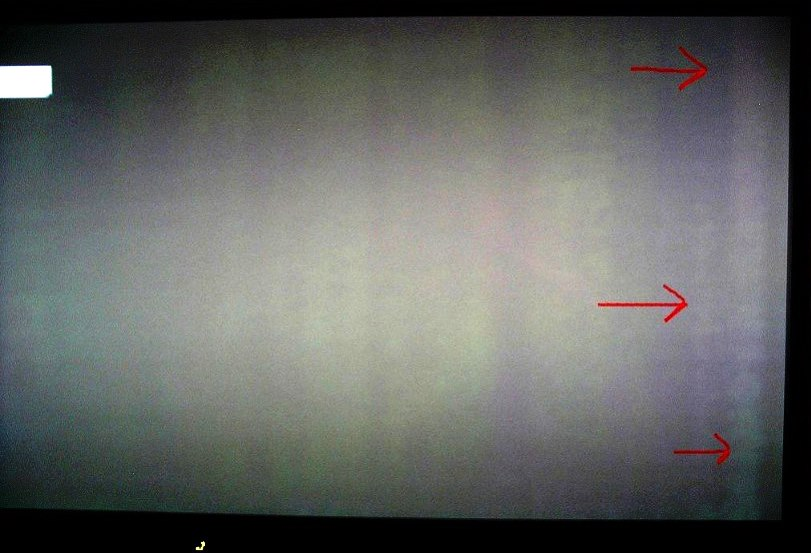 эффект бандинга по краю монитора