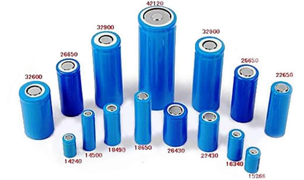 типоразмеры литий-ионных аккумуляторных батарей для шуруповерта