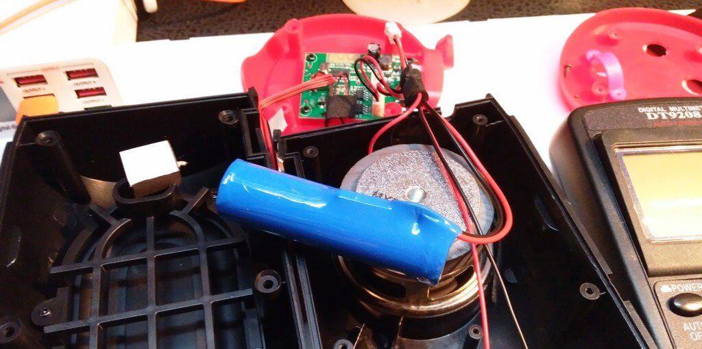 аккумулятор портативной колонки Charge 7