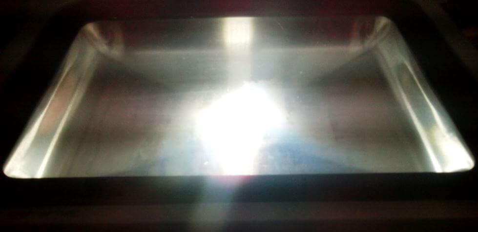 результат ремонта светодиодного прожектора