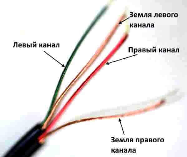 как правильно припаять штекер к наушникам 3 провода
